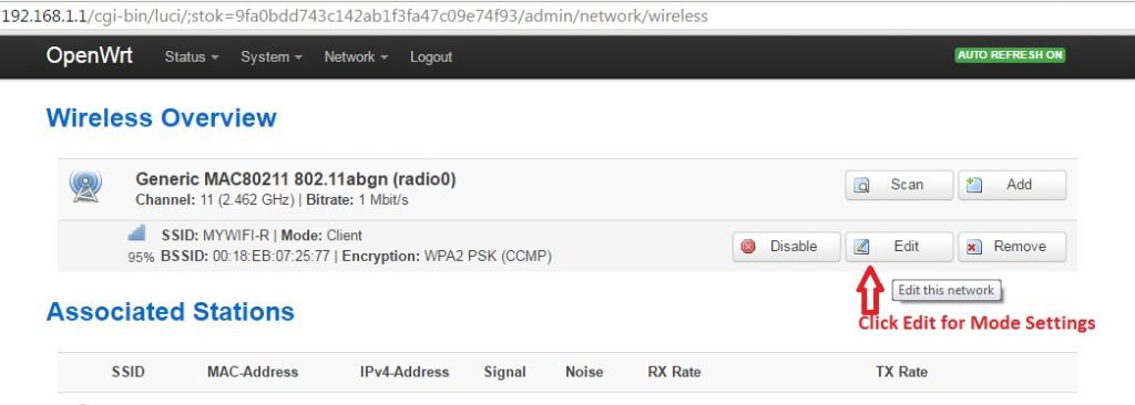 openwrt setup wireless access point