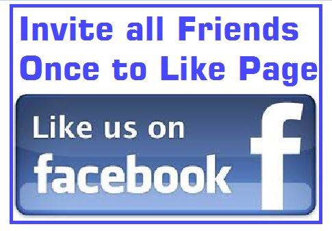 invite all facebook friends once