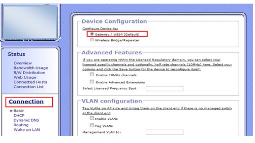 Gargoyle Router Gateway mode Configuration