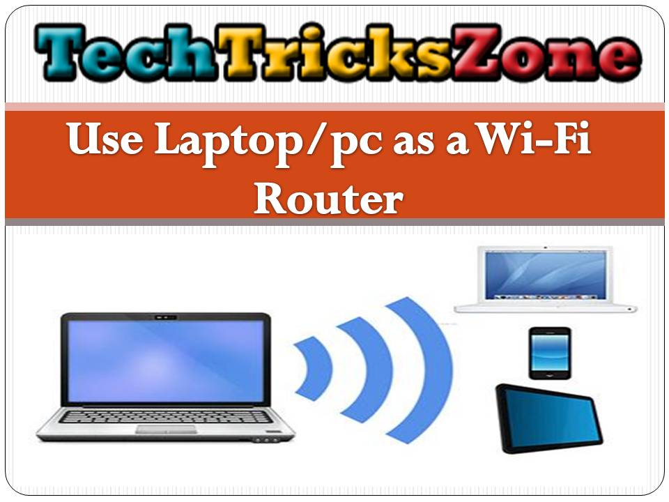how to Enable WiFi Hotspot in Laptop