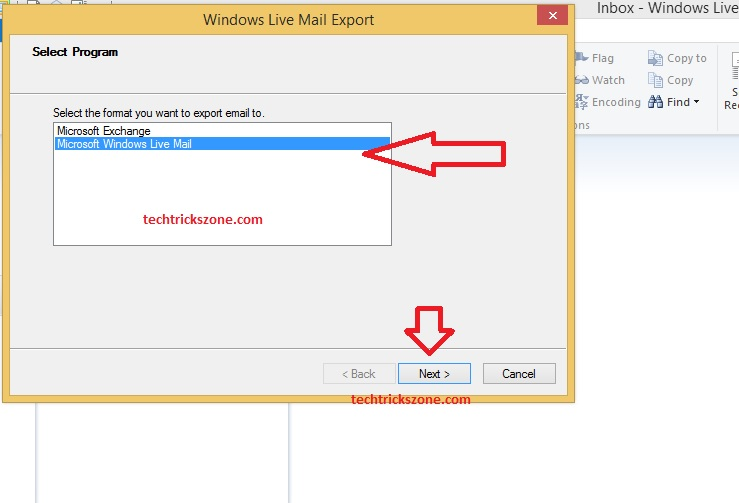 Microsoft Office 2007 Export Email Account with contact