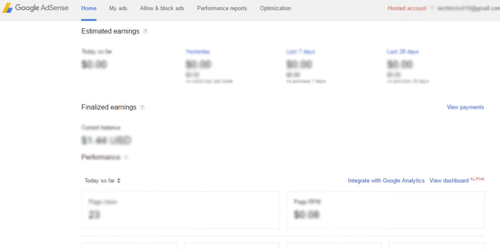 YouTube google Adsens Integration