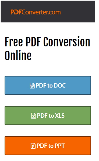pdf conversion online