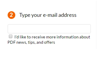 Convert Document in Mail