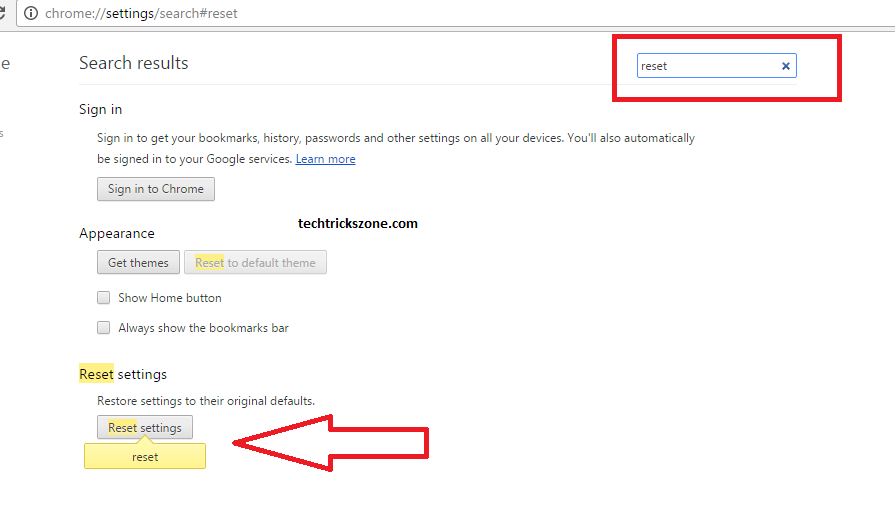 Google Chrome Browser Default To Factory