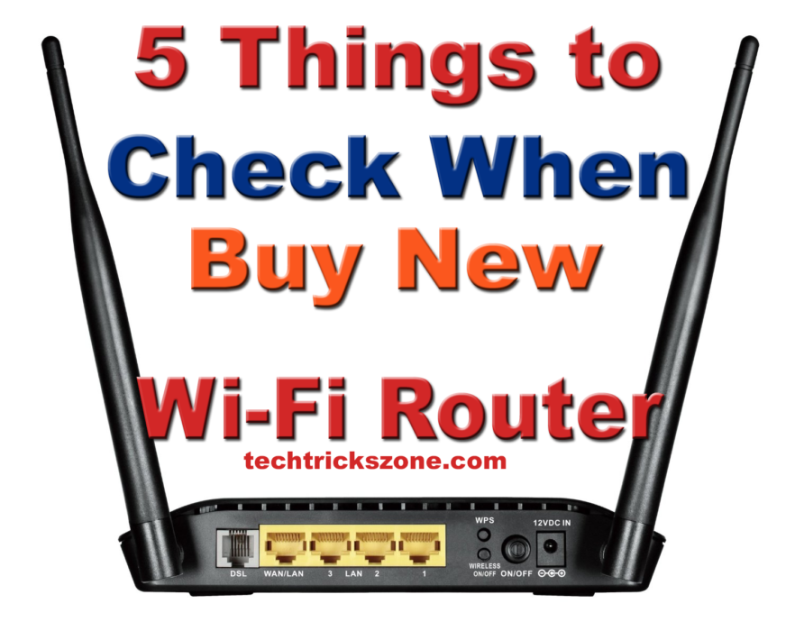 How to select best wifi router for home