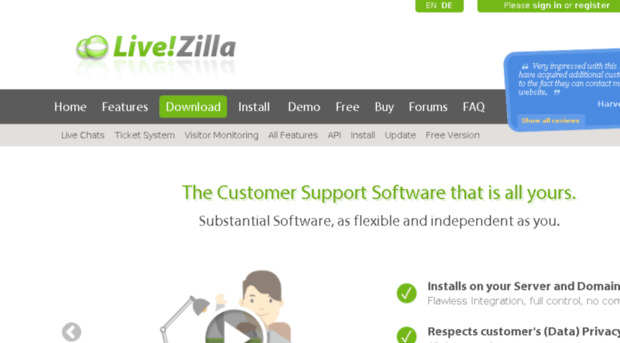 LiveZilla A Best Business Solutions software