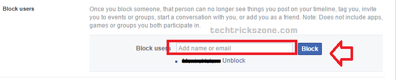 How do you totally block someone on Facebook?