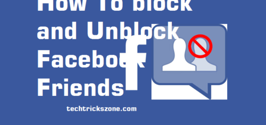 facebook friend block without unfriend them
