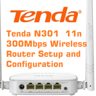 Tenda N301 11n Wireless Router