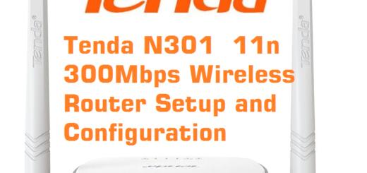 Tenda N301 11n Wireless Router
