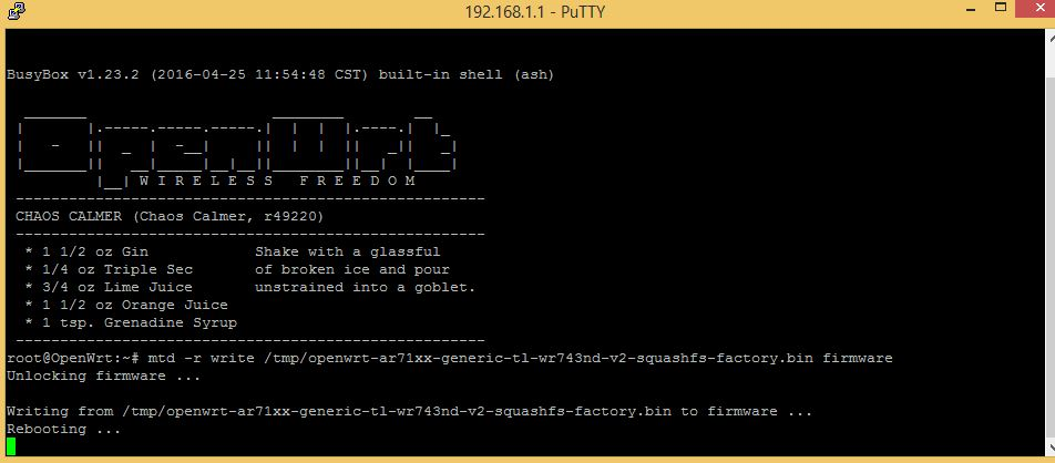 openwrt super channel firmware for I-ball router
