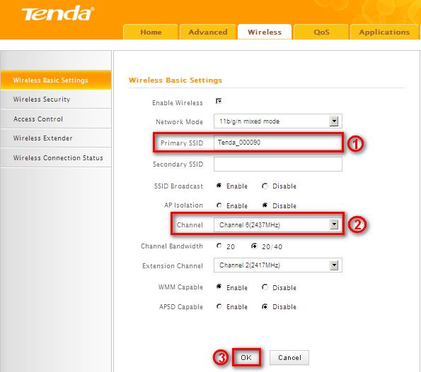 Tenda N301 11N router Firewall configuration