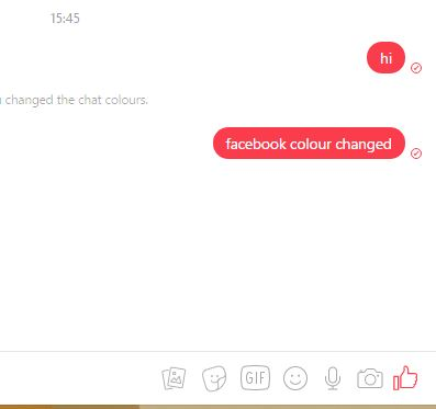 how to change facebook chat emoji