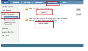 how to Reboot binatone 1port ONT