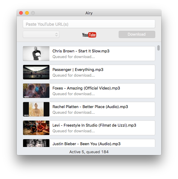 mac youtube downloader mp4