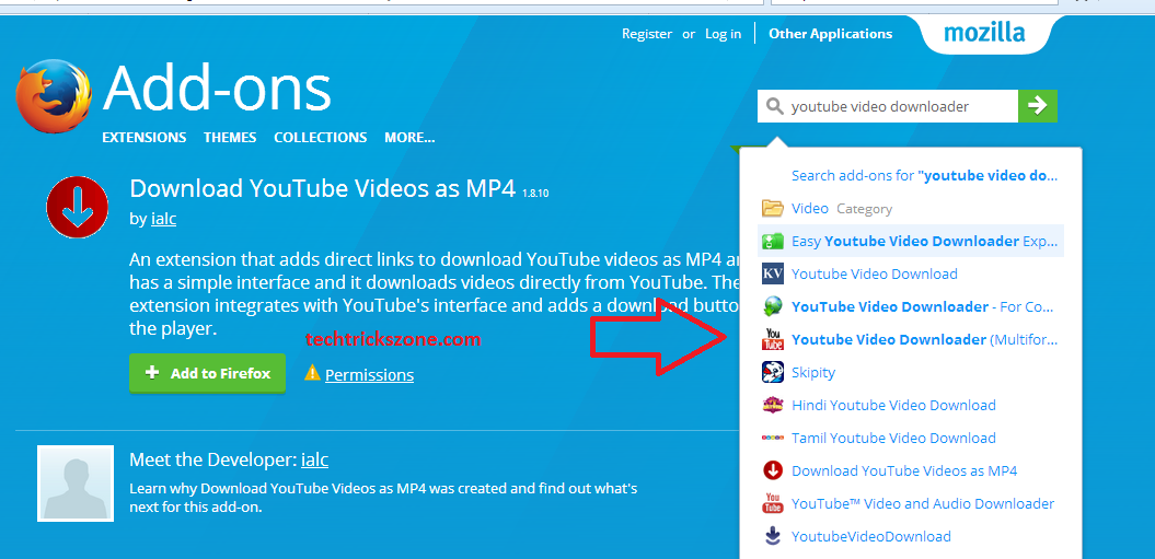 how can youtube video download on mobile