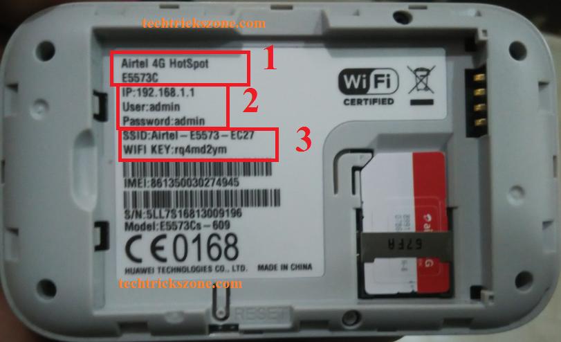 airtel 4g hotspot portable wifi router setup