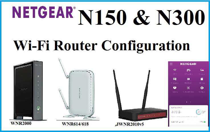Netgear wi fi router n150 and n300 configuration step to step netgear wi fi router greentooth Images