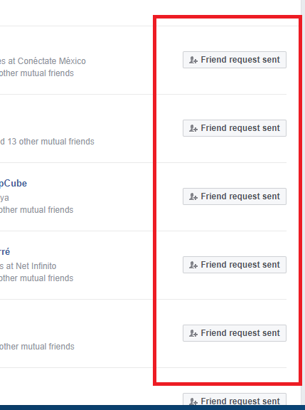 facebook friend request email but not facebook