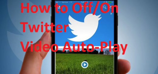 turn off auto-playing videos on Twitter