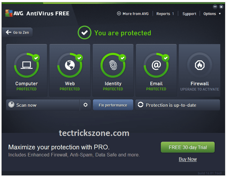 quick heal antivirus blocking websites