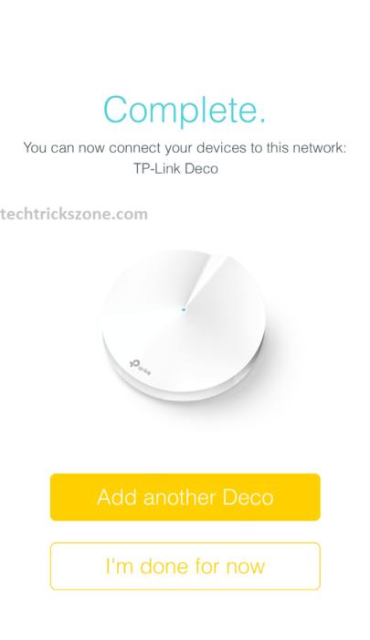 tp-link deco configure with windows