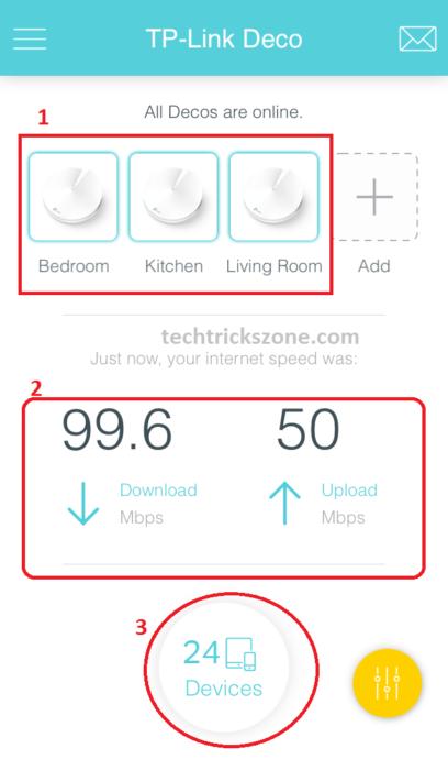 tplink deco m5 access point wifi configuration