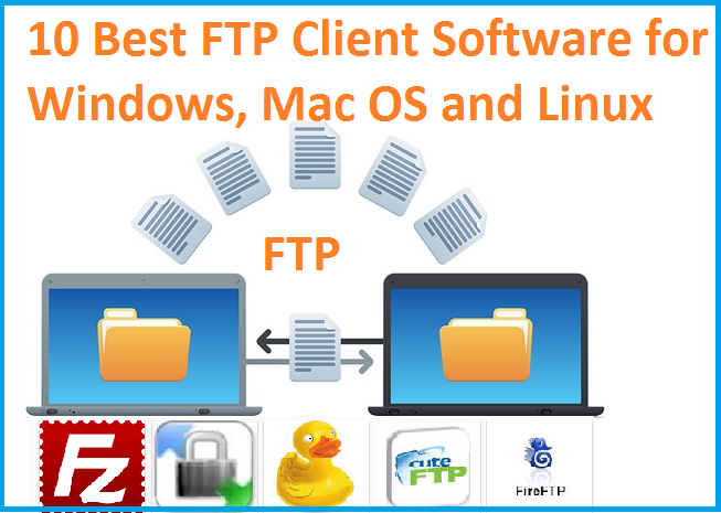 Top 10 Best FTP Client Software for Windows,Mac X and Linux