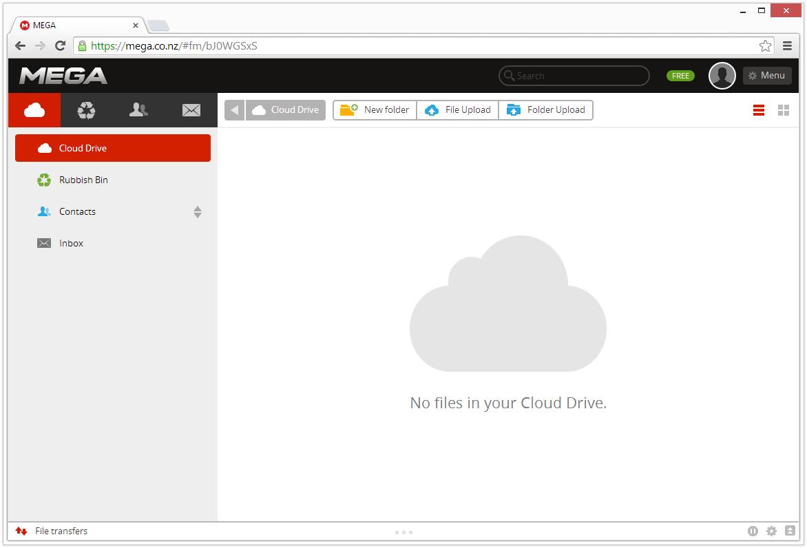 free cloud storage like dropbox