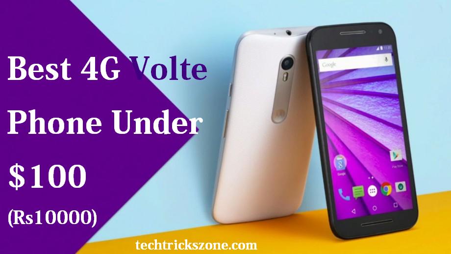 4G VoLTE Phones Under 10000
