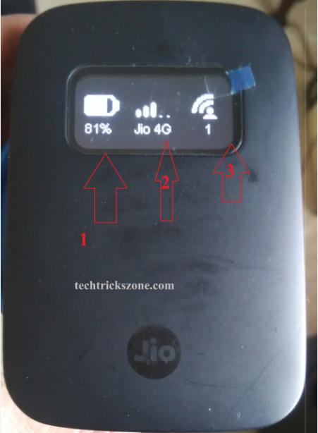 How to change the JioFi password