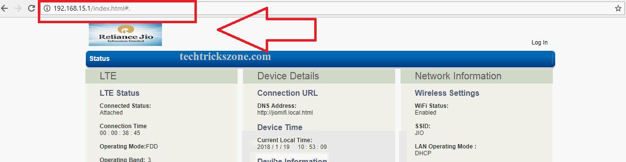 jiofi.local.html change password
