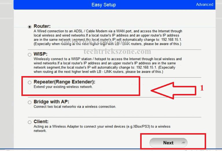 How to configure my Range Extender