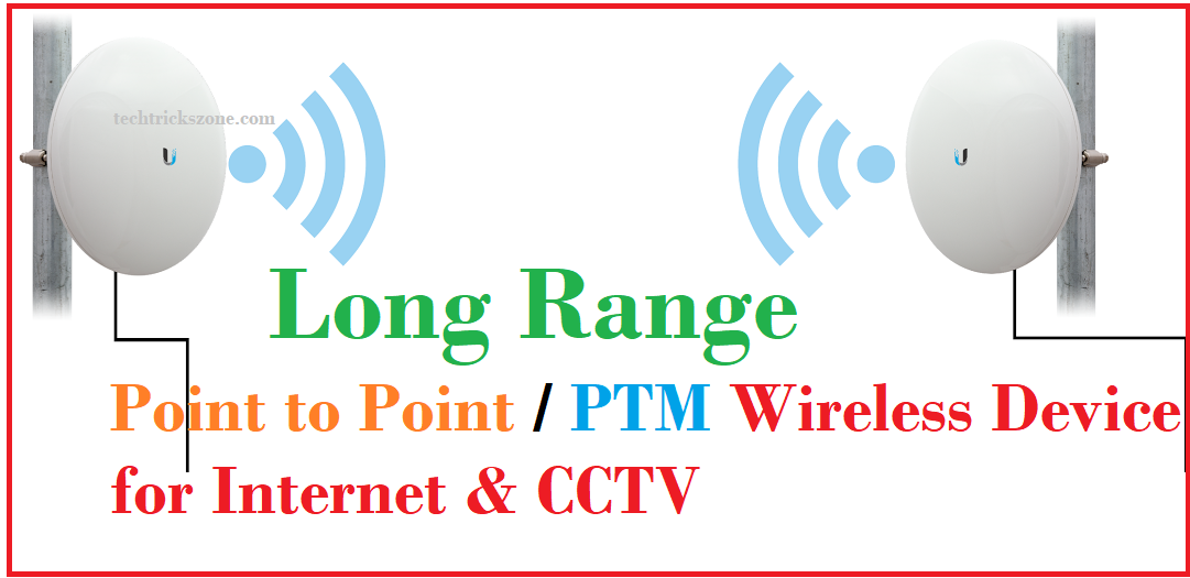 Long range point to point device