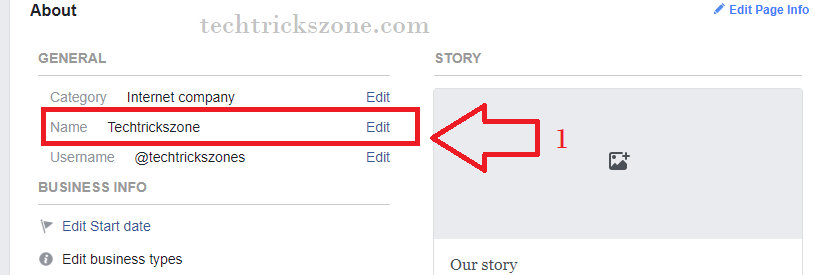 few Steps to Change Your Facebook Page Name