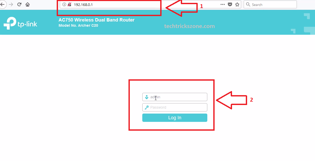 how to install tp-link ac750