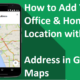 add location to map
