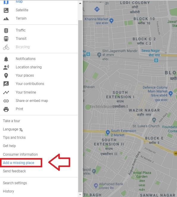 Adding new address to Google Maps