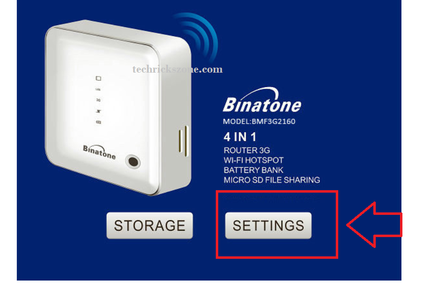 airtel 4g hotspot portable wifi router password