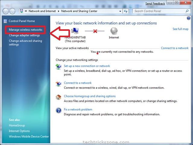 recovery wifi password windows xp