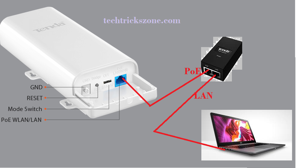configure tenda router as access point