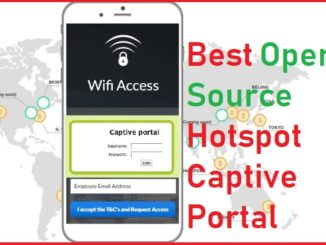 open source captive portal