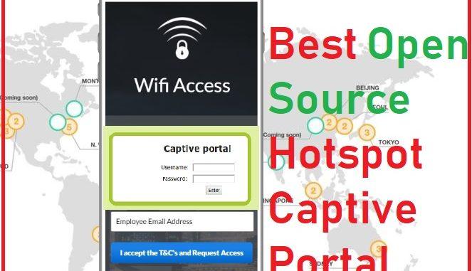 open source captive portal
