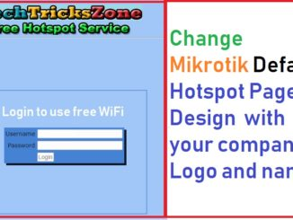 mikrotik hotspot login page