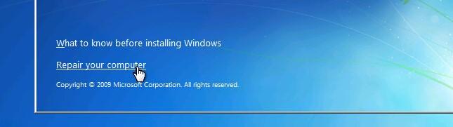 windows password reset usb