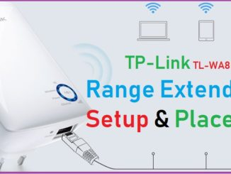 tp link repeater setup