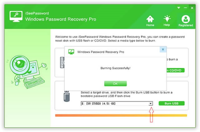 without disk password reset window 10