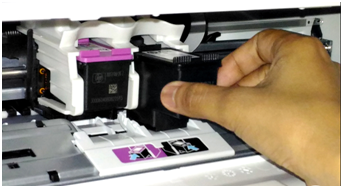 Hp Desk-jet Printer Cartridge Installtion