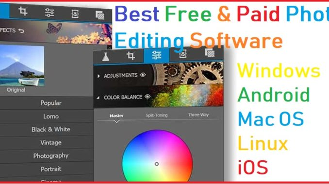 best free open source photo editor software Mac